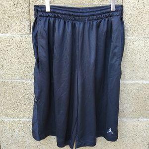 Nike Dri Fit Black Basketball Shorts #